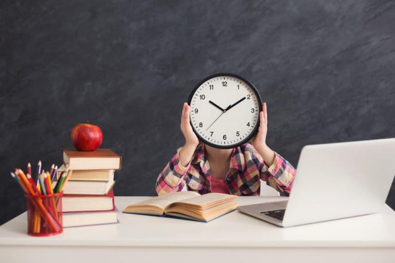 مدیریت زمان برای درس خواندن بدون استرس
