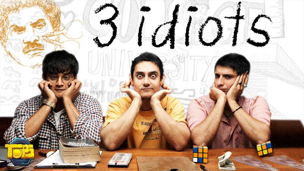 سه احمق در فیلم برتر در مورد درس خواندن